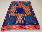 Old Turkish Moroccan Kilim Rug shabby vintage colourful Kelim 150x102 cm medium