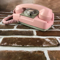 Vintage1969 Monophone Automatic Electric Pink telephone type182 Phone
