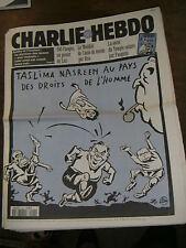 Charlie Hebdo N°120 12/10/94 Caricature Cavanna Wolinsky Cabu Charb Luz Nasreen