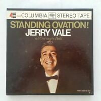 JERRY VALE Standing Ovation! CQ710 Reel To Reel 7 1/2 IPS