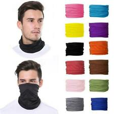 Unisex Multi Use Bandana Face Cycling Biker Outdoor Snood Neck Scarf Tube Gaiter
