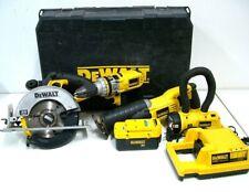 Dewalt 36V Heavy Duty Cordless 4 Piece Combo Kit In Carry Case - DCX6401 - Fr $1