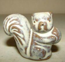 Vintage Miniature Squirrel Ceramic Porcelain Mini Figure Figurine