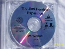 Jimi Hendrix -Winterland Promo CD Disc 4