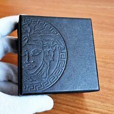 Scatola GIANNI VERSACE box case gemelli orecchini cufflinks versus gold anello