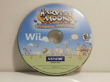 Harvest Moon: Animal Parade Wii Disc Only! Cleaned and Tested!