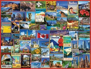 Best Places in Canada 1000 Piece Jigsaw Puzzle 760mm x 610mm   (wmp)