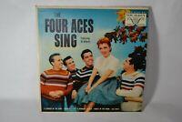 The Four Aces Sing featuring Al Alberts vinyl Vocalion VL 3604 Record 33 rpm LP
