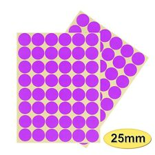 [BB] Sticky Point 25mm Spot Color Adhesive Round Label Sticker 15pc