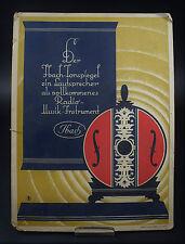 Werbeschild Ibach Tonspiegel Radio
