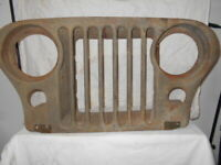 Grille  M38A1 Original NOS   Jeep Willys Decoration / Restoration  684569  # 3
