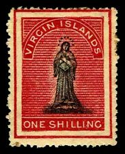 1867-70 Virgin Islands #7 St. Ursula Unwmk - OGHR - F/VF - CV$300.00 (ESP#3374)