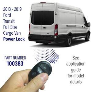Pop N Lock Cargo Safe Power Deadbolt for 13-19 Ford Transit Full Size 100383