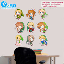 Anime Wall Sticker The Legend of Zelda Breath of the Wild link Home Decor Decal