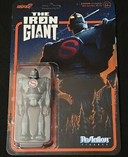 2021 ReAction Super7 The Iron Giant Superman Version 3 3/4 In Hand Rdy To Ship