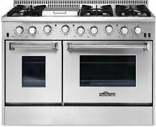 "Thor Kitchen - Hrg4808U 48"" 6 Burner Stainless Steel Professional Gas Range"