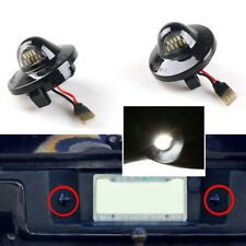 1Pair LED Rear License Plate Light for Ford F-150 Ranger Raptor Explorer 9-SMD