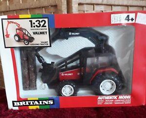 BRITAINS model 9516 Valmet 805 forestry tractor