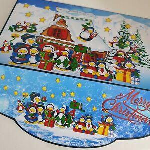 Handmade Christmas penguin xmas money wallet /Gift money wallet/ pocket envelope