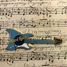 Hard Rock Cafe - Las Vegas Retro Guitar- Blue Aria Urchin Deluxe Aria