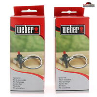 2 Weber 7510 Replacement Grill Igniter Kit Genesis Silver Gold Platinum ~ New