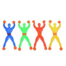 10pcs Slime Viscous Climbing Spiderman Squeeze Somersault Villain Toys H&T