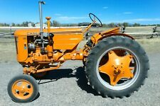 1952 Case Vac Row Crop Tractor With Deluxe Seat Excellent Condition