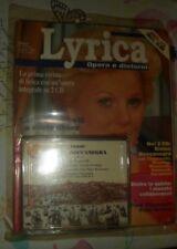 RIVISTA  LYRICA + 2 CD, VERDI SIMON BOCCANEGRA TUTTO SIGILLATO GIUGNO 1994