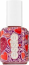 Essie Galentines 2019 Collection Matte Glitter Top Coat, You're So Cupid Red