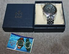 OTS ALL CHROME 3022G WATCH NEVER WORN MIB