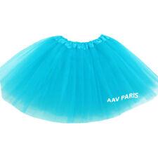Tutu de Ballet Danse Soirée Jupe Jupon pour filles -  taille unique - turquoise