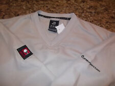 LOT of 2 - NWT - AHEAD AUTHENTICS - GOLF V-NECK PULLOVER WIND SHIRTS - M
