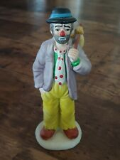 Vintage Flambro Emmett Kelly Sad Hobo Figurine