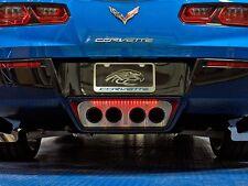 Corvette C7 Standard Perforated Exhaust Filler Panel - 2014-2018  Illuminated