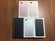 New Lot of 10 IPHONE 7 Plus Boxes (Jet Black -Rose Gold-Silver-Gold Black)EMPTY