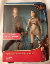DC Comics Wonder Woman And Steve Trevor Doll 2-Pack