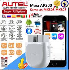 Bluetooth AUTEL AP200 OBD2 Scanner ELM327 Diagnostic Car Code Reader Android IOS