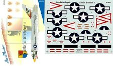 AEROMASTER 48-404 - DECALS 1/48 - COLORFUL CRUSADERS 2