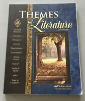 Abeka Grade 9 Themes In Literature STUDENT Book  CURRENT