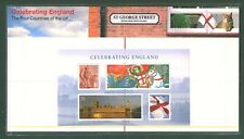 GB 2007 CELEBRATING ENGLAND PRESENTATION PACK Minature Sheet MNH