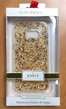 Samsung Galaxy S7 Edge Case Karat Case - Rose Gold / Transparent