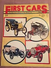 Vintage 1st Cars The Illustrated History of the Motor Car No 1 Book 1976