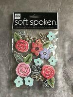 First 1st Grade School Dimensional Stickers Scrapbooking Soft Spoken