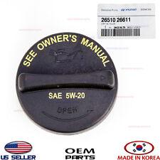 ENGINE OIL FILLER CAP GENUINE!!! FOR VARIOUS HYUNDAI KIA 2008- 2651026611
