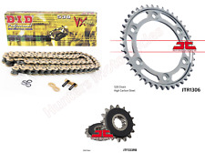 Honda CBR1000RR 2004 & 2005 DID Gold X-Ring Chain & Quiet JT Sprocket Kit Set