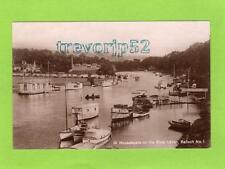 Houseboats on River Leven Balloch unused RP pc Ref C441