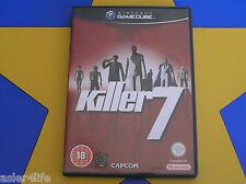 KILLER 7 - GAMECUBE - Wii Compatible