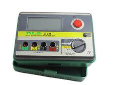 DLG Digital Insulation Resistance Tester Megger MegOhmmeter Meter 1000V DI-301