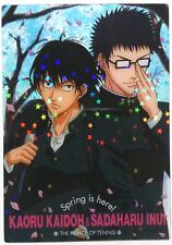 The Prince of Tennis Clear Trading Card Kaoru Kaido & Sadaharu Inui