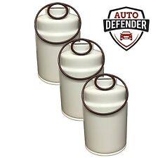 6.6 Duramax Fuel Filters for 01-15 Chevrolet GMC Turbo Diesel 3 ct